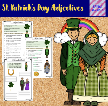St Patrick's Day Adjectives
