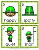 St Patrick's Day Leprechaun Adjectives Write The Room Activity
