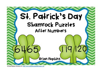 St. Patrick's Day After Number Puzzles