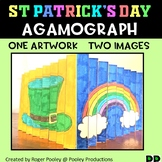 St Patrick's Day Agamograph Art Activity