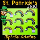 St. Patrick's Day Alphabet Activities for Kindergarten