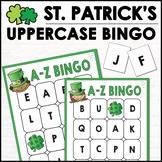 St. Patrick's Day Alphabet Bingo - Letters A-Z