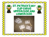 St. Patrick's Day Alphabet Clip Cards