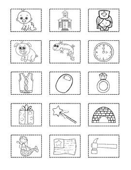 St Patrick's Day Alphabet Cut and Paste FREEBIE
