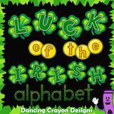St.Patrick's Day Alphabet Letters - Clip Art