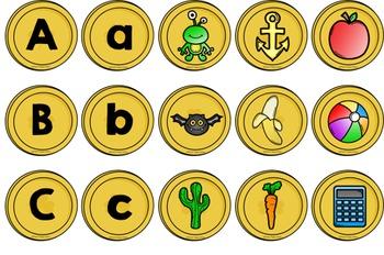 St. Patrick's Day Alphabet Matching