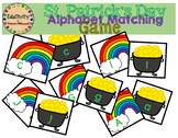 St. Patrick's Day Alphabet Matching Game
