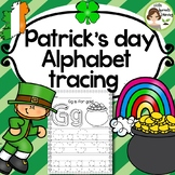 St. Patrick's Day Alphabet Tracing Practice (Print Handwriting Practice)