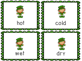 St. Patrick's Day Antonyms