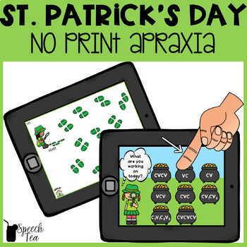 St. Patrick's Day Apraxia NO PRINT