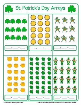 St. Patrick's Day Arrays