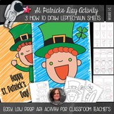 St. Patrick's Day Art Activity - Leprechaun How-to Draw