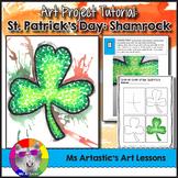 St. Patrick's Day Art Lesson, Shamrock