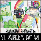 St. Patrick's Day Art Lessons Booklet, Distance Learning {