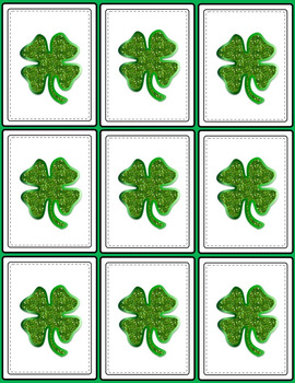 St. Patrick's Day Articulation 100 Repetitions Activity All Sounds Min Prep