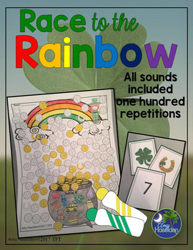 St. Patrick's Day Articulation 100 Repetitions Activity  Speech Therapy