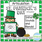 St. Patrick's Day Articulation