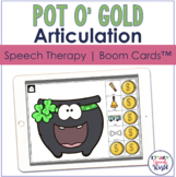 St. Patrick's Day Articulation BOOM Cards™  | Speech Therapy