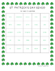 St. Patrick's Day Articulation Bingo