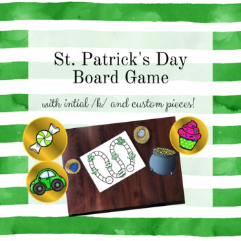 St. Patrick's Day Articulation Board Game