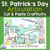 St. Patrick's Day Articulation Craft - Speech Therapy Activity