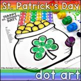 St. Patrick's Day Articulation Dot Art  |  NO PREP