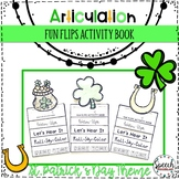 St. Patrick's Day Articulation Fun Flips - Activity Book