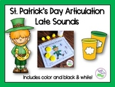 St. Patrick's Day Articulation: Late Sounds for Speech Therapy