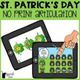 St. Patrick's Day Articulation NO PRINT