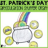 St. Patrick's Day Articulation Stuffer Craft
