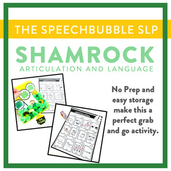 St. Patrick's Day Articulation and Language