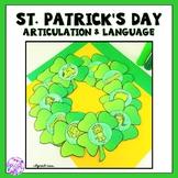 St. Patrick's Day Speech and Language Activity