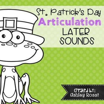 St. Patricks Day Articulation
