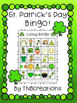 graphic relating to St Patrick's Day Bingo Printable named St. Patricks Working day Bingo