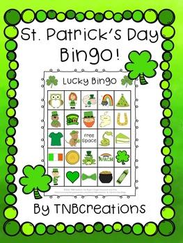 picture relating to St Patrick's Day Bingo Printable named St. Patricks Working day Bingo