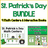 St. Patrick's Day BUNDLE (Interactive books and Centers)
