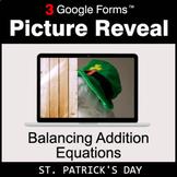 St. Patrick's Day: Balancing Addition Equations - Google F