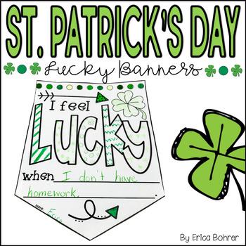 St. Patrick's Day Banner Freebie!