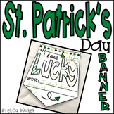St. Patrick's Day Banner Freebie!
