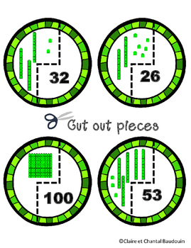 St.Patrick's Day Base Ten Puzzles