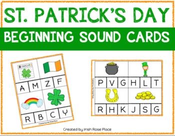 St. Patrick's Day Beginning Sound Cards