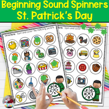St. Patrick's Day Beginning Sound Spinners