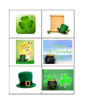 St, Patrick's Day Bingo