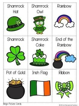St Patrick's Day Bingo