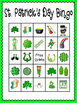 St. Patrick's Day Bingo (30 completely different cards & c