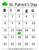 St.Patrick's Day Bingo