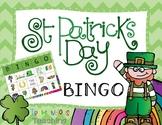 St. Patrick's Day Bingo Game Cards Free