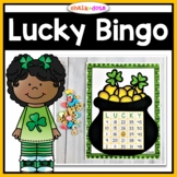 St. Patrick's Day Bingo (Numbers 1-50)