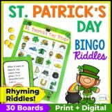 St. Patrick's Day Bingo Riddles Game