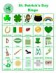 St. Patrick's Day Bingo and Matching Games